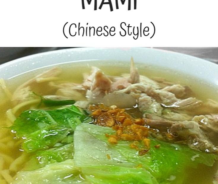 CHICKEN WANTON MAMI (CHINESE STYLE)