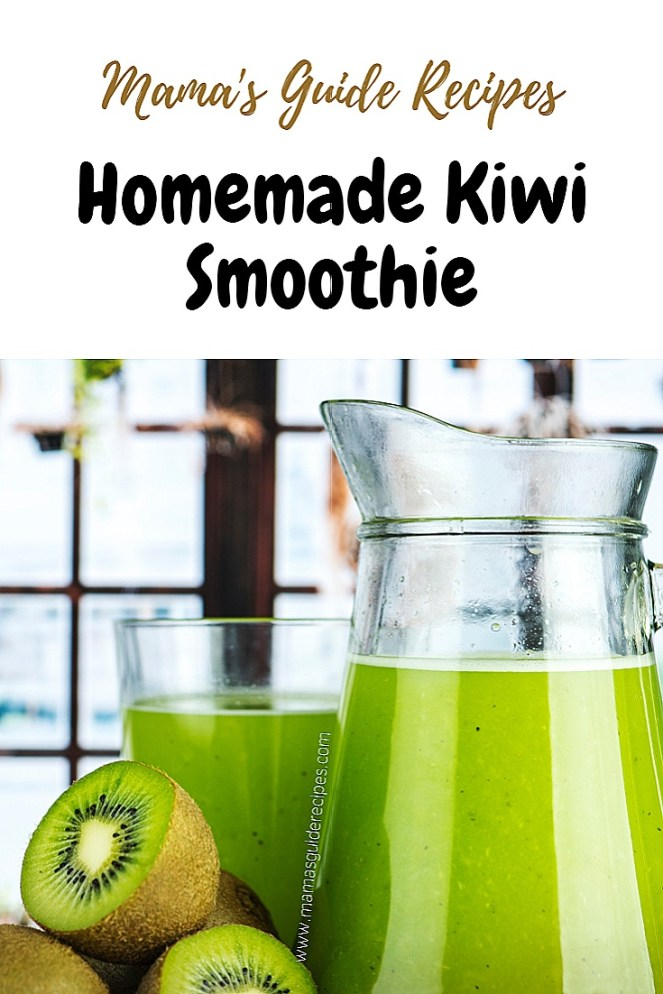 Homemade Kiwi Smoothie