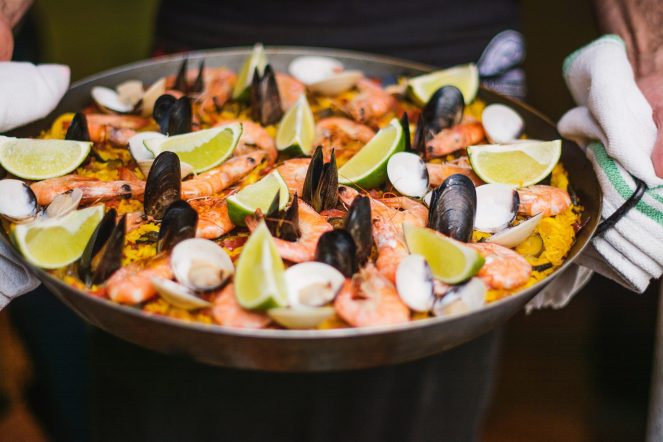 More recipe photos of Seafood Paella Valenciana
