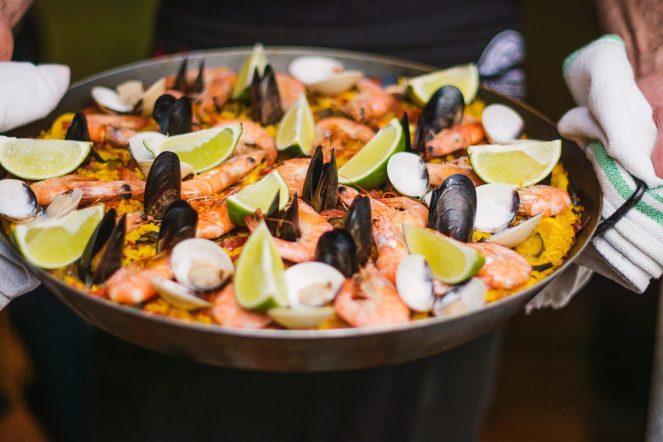 More recipe photos of Seafood Paella Valenciana