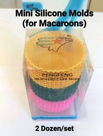 Macaroons Silicone Mold (small in size)