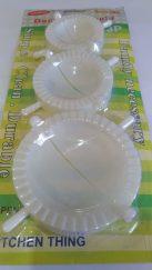 Empanada Molder 3pcs Set