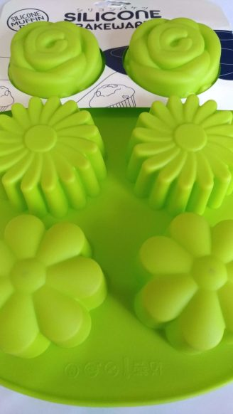 Silicone Muffin Pan Flower Shape