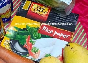 Real Thai Rice Paper