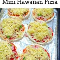 Quick and Easy Mini Hawaiian Pizza