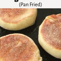 English Muffin (Fried)