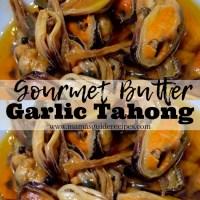 GOURMET BUTTER GARLIC TAHONG