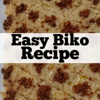 EASY BIKO RECIPE