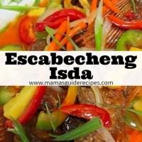 Escabecheng Isda