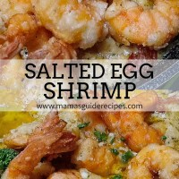Salted Egg Shrimp
