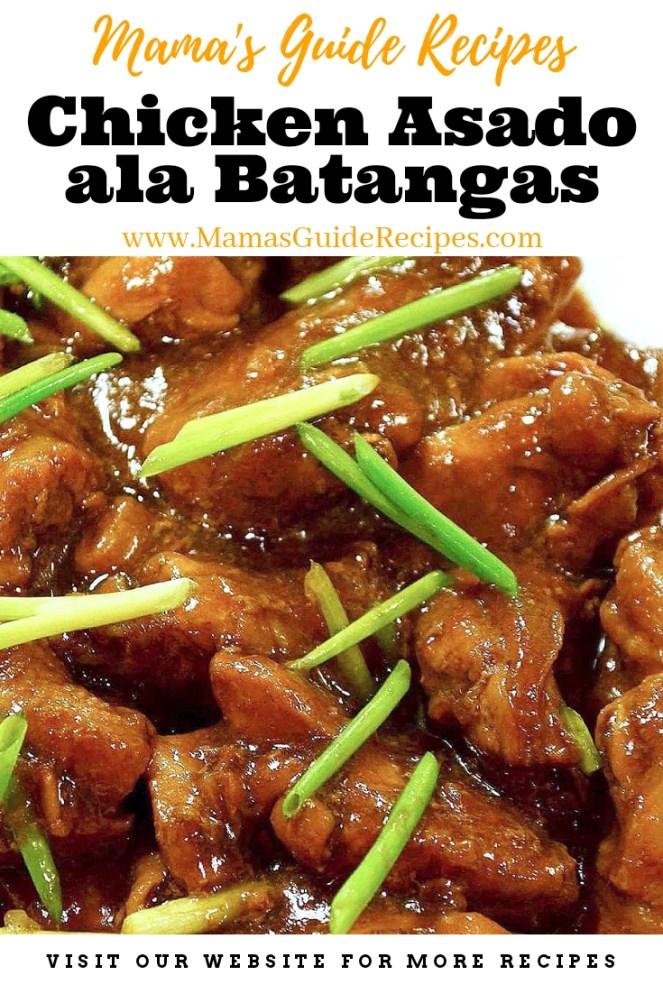 Chicken Asado ala Batangas