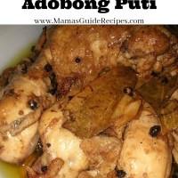 Chicken Adobong Puti