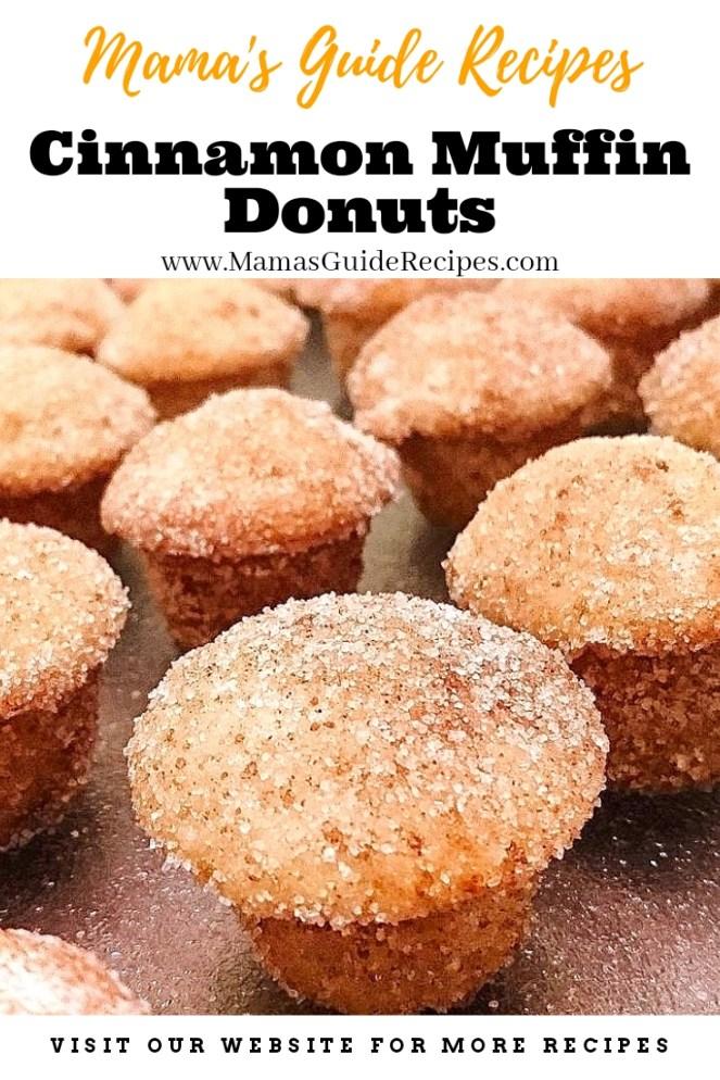 Cinnamon Muffin Donuts