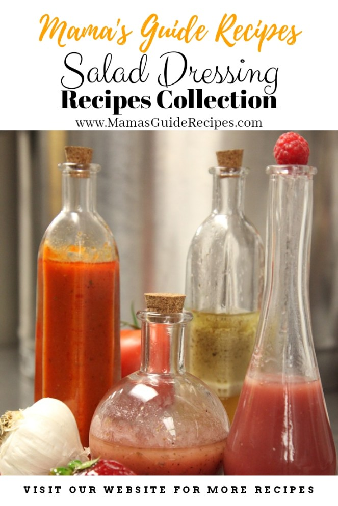 Salad Dressing Recipes Collection