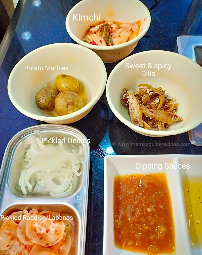 Samgyupsal Recipe - Side Dishes Ideas