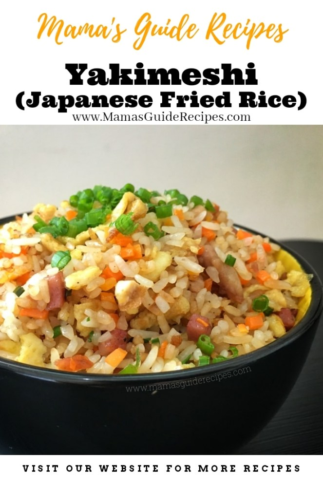 Yakimeshi (Japanese Fried Rice)