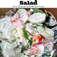 Lolo's Pipino Salad
