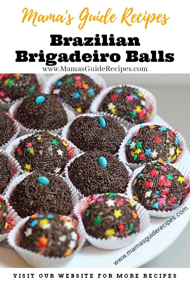 Brazilian Brigadeiro Balls