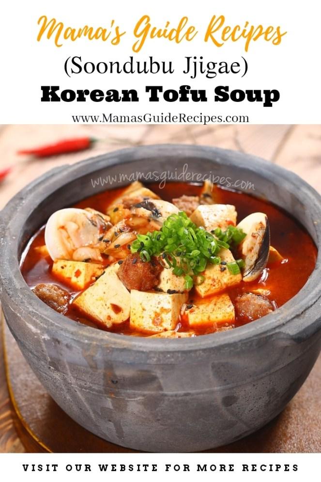 Korean Tofu Soup Recipe (Soondubu Jjigae)