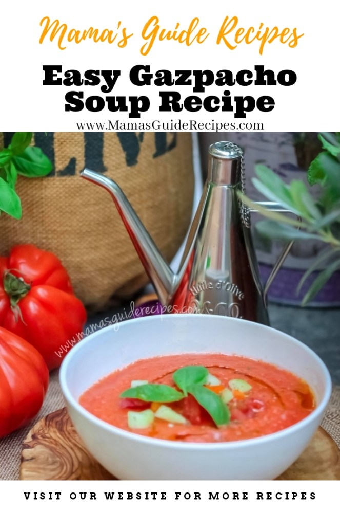 Easy Gazpacho Soup Recipe