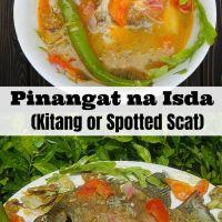 PINANGAT NA ISDA (Kitang or Spotted Scat)