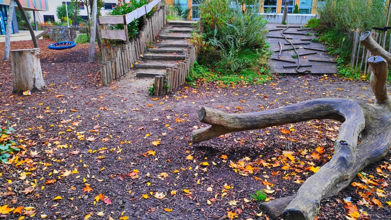 groene schoolpleinen in Zoetermeer: IKC Stella Nova