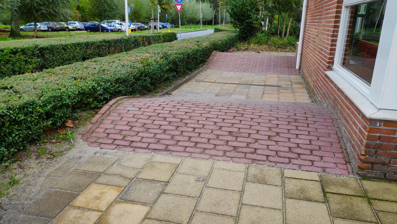 groen schoolplein Prinses Margriet Zoetermeer heuveltjes