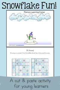 Scissor Skills: Snowflake Fun!