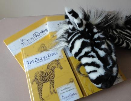 Ziggy the Zebra with All About Reading Level Pre-1