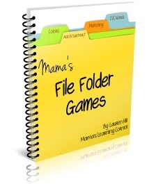 File Folder Games Ebook