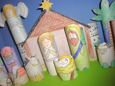 Nativity Craft for Kids from Catholic Icing