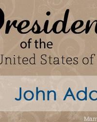 John Adams: Facts and Worksheets