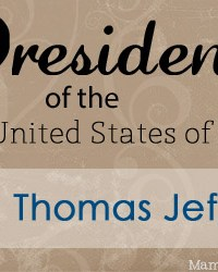 Thomas Jefferson: Facts and Worksheets