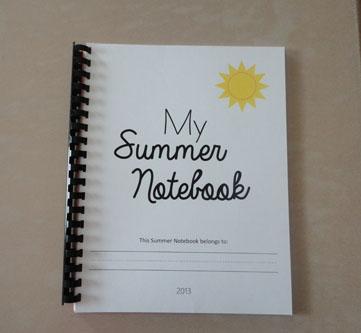 My Summer Notebook