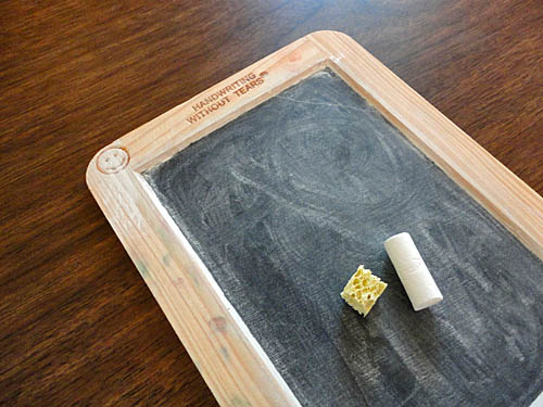 Handwriting Without Tears Slate for Preschool and Early Kindergarten