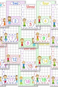 Weekly Printables Round-Up: Horse Copywork, Bird Record Book, Number Graph Worksheets