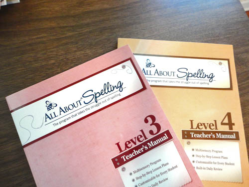 All About Spelling Levels 3 and 4