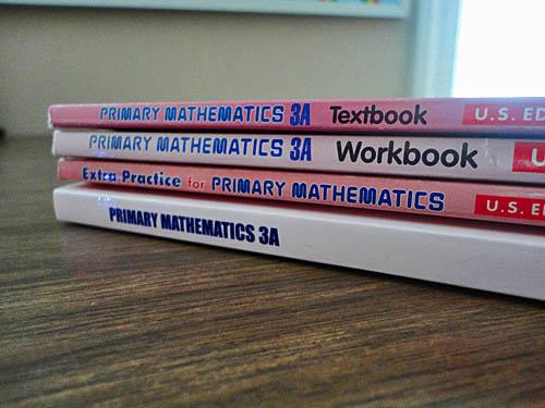 Singapore Math 3A and 3B for Third Grade