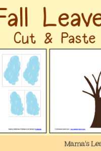 Weekly Printables Round-Up: Columbus Notebooking Pages, Fall Leaves Cut & Paste, Reading Charts