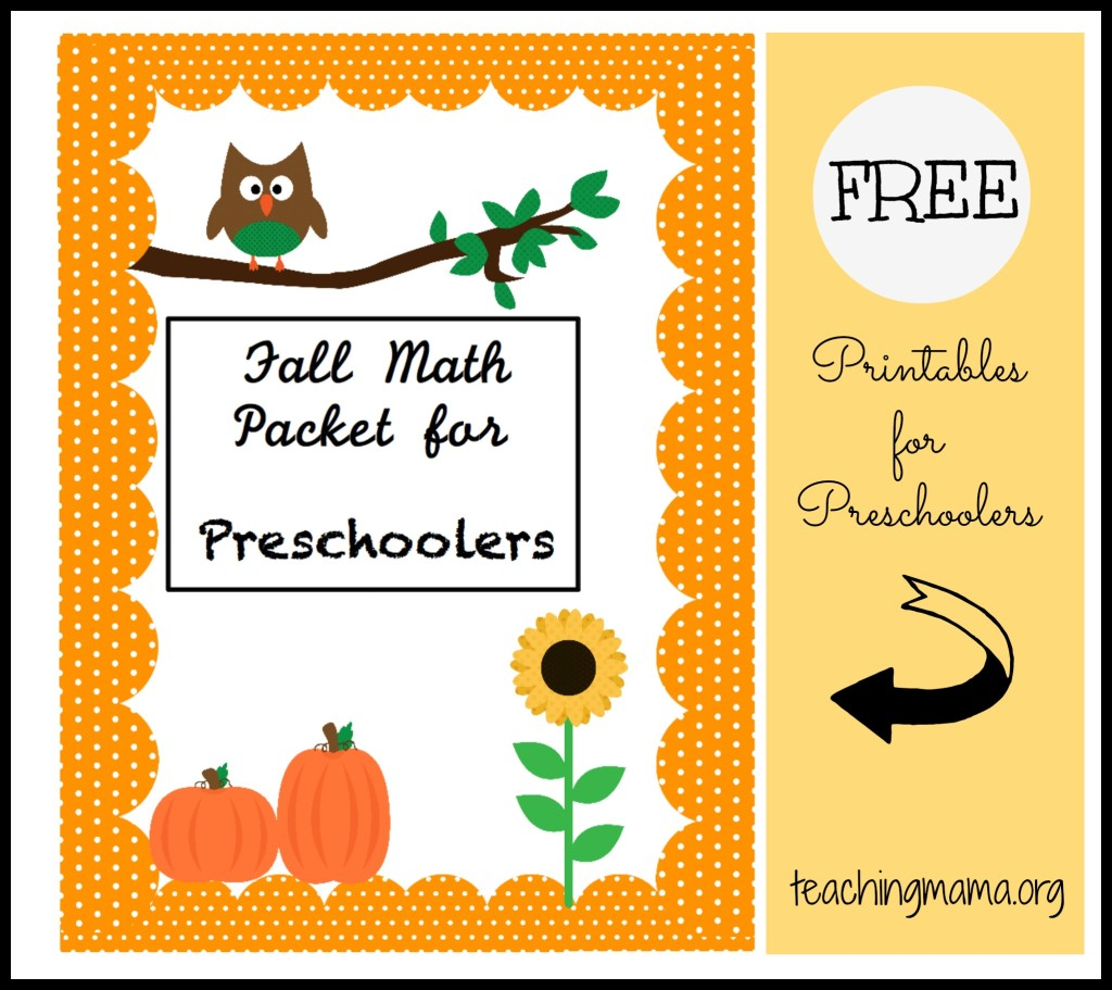 Weekly Printable Pages Round Up Fall Worksheets