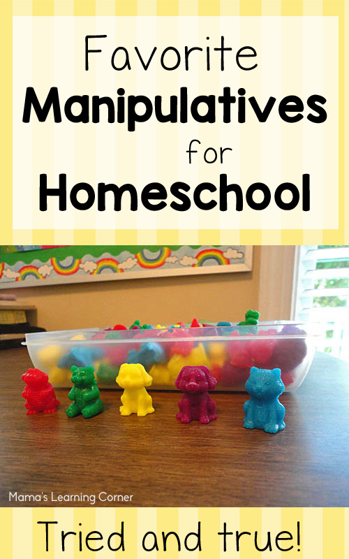 Mama's Favorite Homeschool Manipulatives