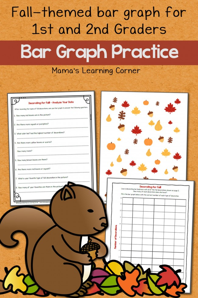 Fall Bar Graph Worksheets