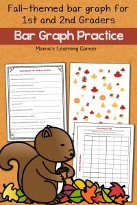 Fall Bar Graph Worksheets