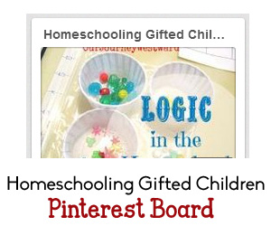 Homeschooling Gifted Children Pinterest Board