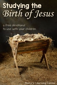 Studying the Birth of Jesus Devotional