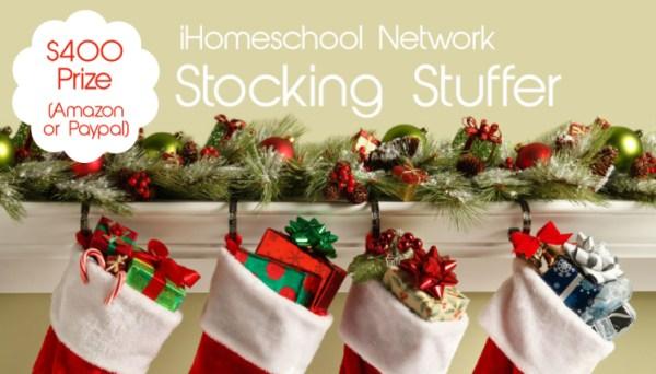 2013 Stocking Stuffer - win $400!