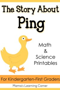 The Story About Ping Printables