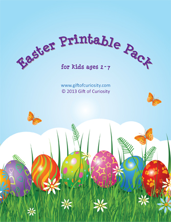 Easter Printable Pack from Gift of Curiosity