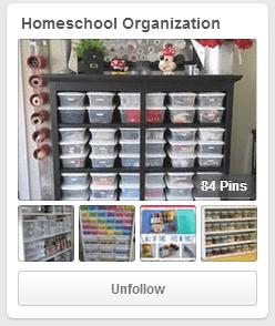 Homeschool Organization Pinterest Board