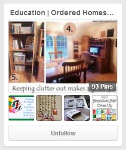 Education: Ordered Homeschool Pinterest Board